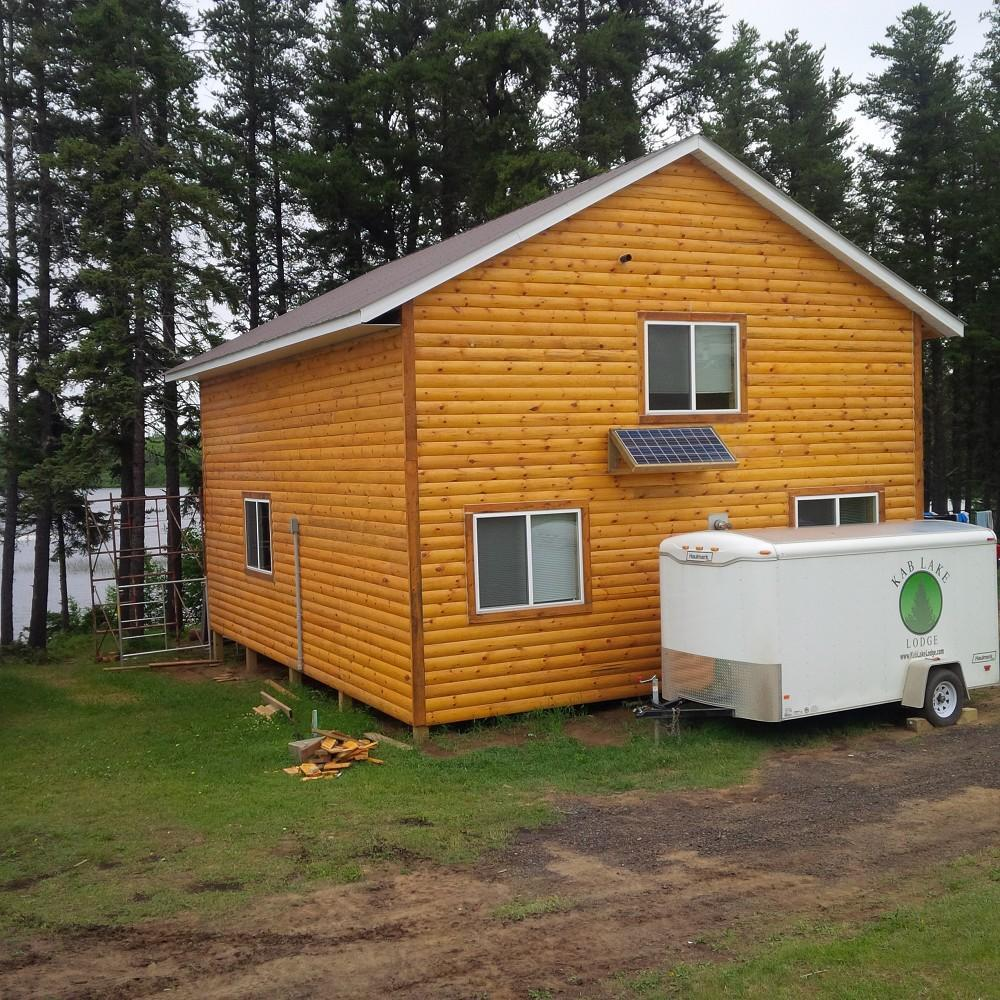 Kab lake lodge northern ontario cabins for rent fishing for Fishing cabin rentals