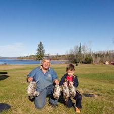 Northwestern Ontario Grouse and Partridge Hunting